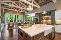 Beautiful Farmhouse Style Ranch Home designed for Outdoor ...