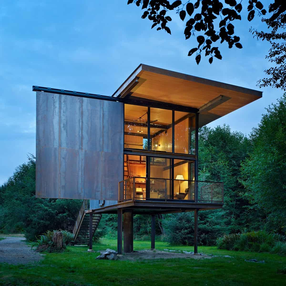 7 Clever Ideas for a Secure Remote Cabin  Modern House