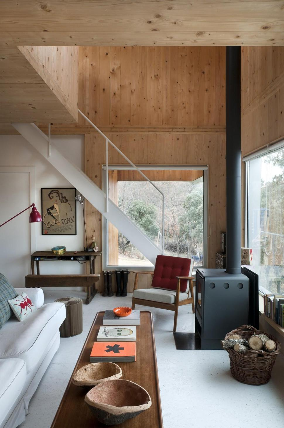Small Forest Cabin Designed and Built with Environmental ...