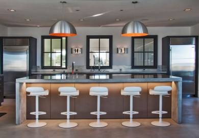 Floating Kitchen Island Bar