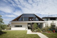 Hipped Glass Roof House | Modern House Designs