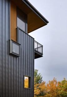 Modern House Design with Corner Windows