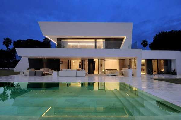Awesome Modern House  Vacation House on Mediterranean