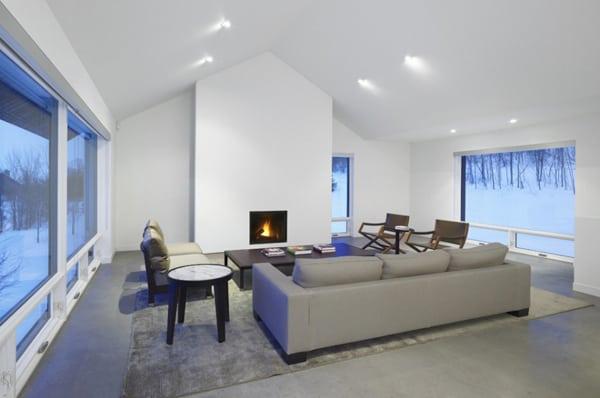 Contemporary Chalet House Plans  Canadian Winter Wonderland  Modern House Designs