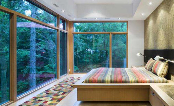 Contemporary House Architecture  Ravine House in Urban Canada  Modern House Designs