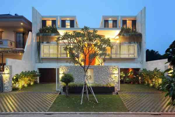 Interior Courtyard Garden Home Modern House Design