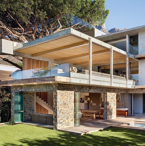 Insanely cool house engages nature on many levels  Modern House Designs