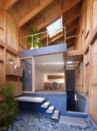 Inside Out House with Inner Garden | Modern House Designs