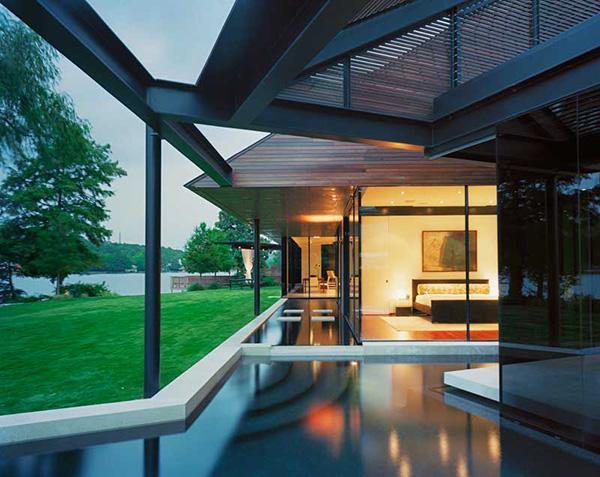 Luxury Lake House Design on Lake Austin Texas comes with