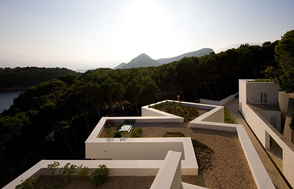 Luxury Summer House Of Mediterranean Design Offers Amazing Views From A Rooftop Pool Modern
