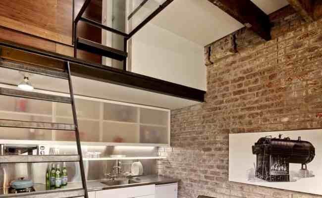Tiny Industrial Style Guest House Conversion Modern