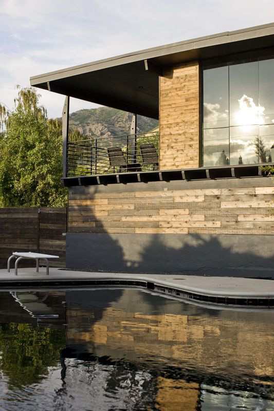 Utah Modern Homes For Sale Dark Walnut Makes It Modern House Designs