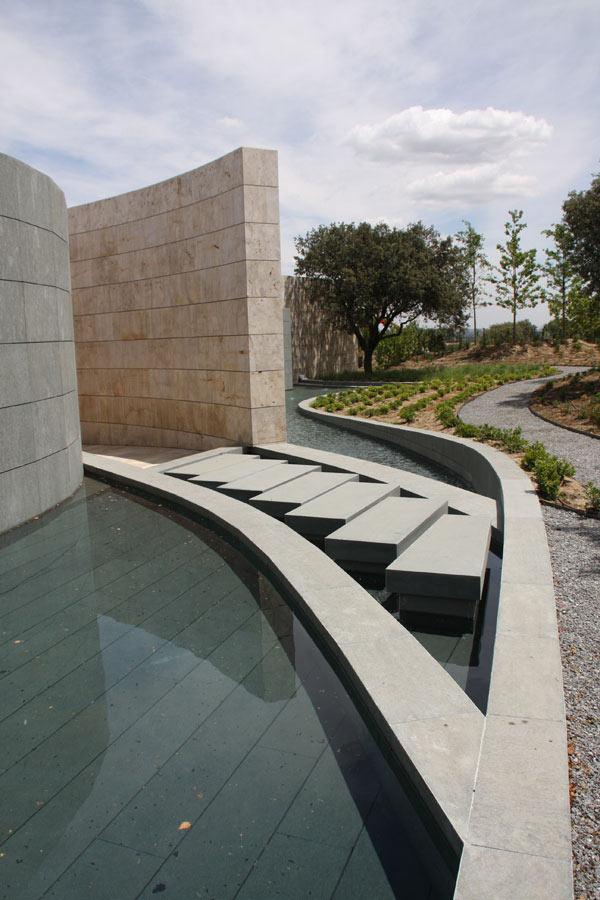 Modern Zen House Design in Madrid Spain  Modern House Designs