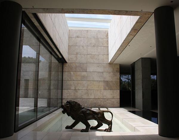 Modern Zen House Design In Madrid Spain Modern House