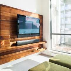 Sleek Tv Unit Design For Living Room Oak Furniture Flat Panel Stands: Wooden Decor Ideas - Fif Blog
