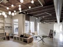Industrial Open Ceiling Design