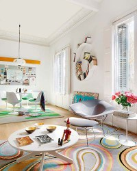 Colorful Apartment Ideas from Barcelona