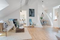 Cozy Apartment Decorated in Pure Modern Scandinavian Style ...