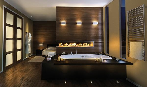 Luxury Master Bathroom Idea By Pearl Drop In Bathtub And