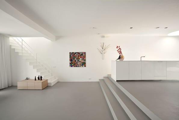 Open Floor Plan Decorating minimalism