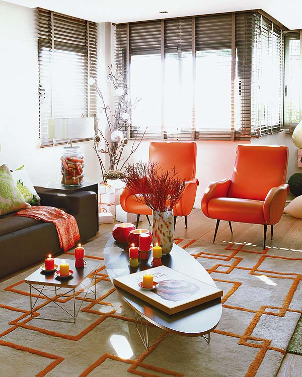 17 Best Images About Home Decor Trend Tangerine Madness On
