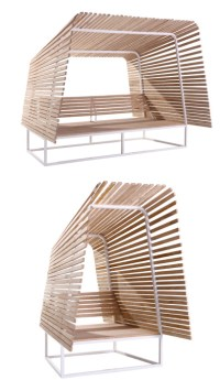 Eco Friendly Outdoor Shelter from Bleu Nature