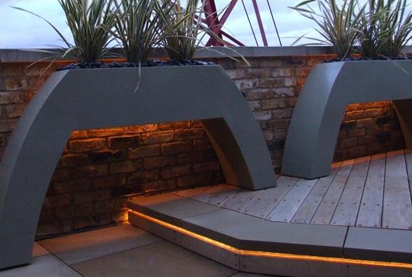 Contemporary Roof Terrace Garden Design by Amir Schlezinger  Modern Outdoors