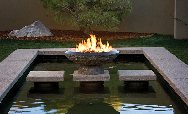 Granite Fire Pit from Stone Forest  new fire vessels and