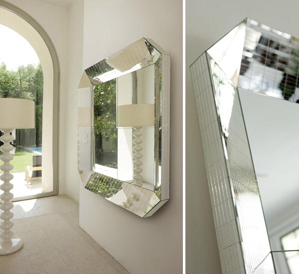 Modern Mirrored Furniture by Porada  Ultra Modern Decor