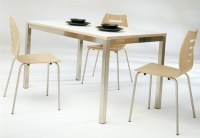 Modern Breakfast Table Chairs by Ozzio | Ultra Modern Decor
