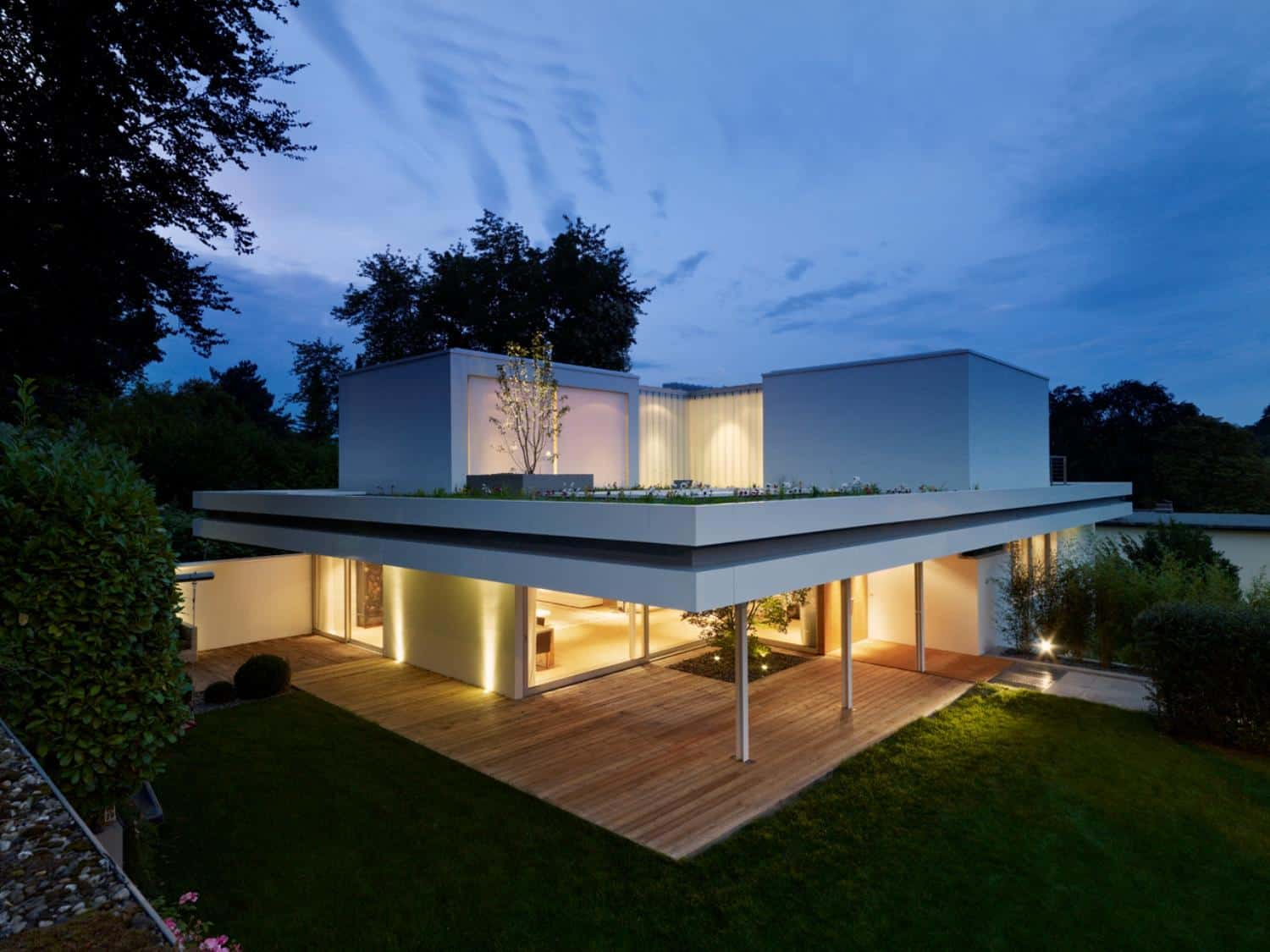 Contemporary Renovation and Additon to 60s Bungalow