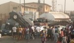 """News: """"Scores Injured"""" As Tanker Loaded With Fuel Clashes With 5 Vehicles At Gbagada"""