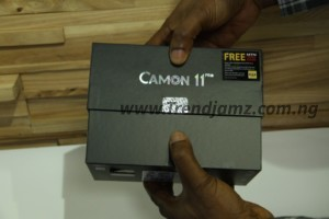 TECNO Camon 11 Pro Unboxing pack