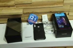 TECNO Camon 11 Pro Unboxing accessories