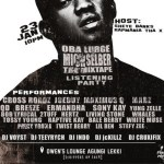 Event: Rapmania Tha X To Host Oba Lurge's Mich Selber The Mixtape Listening Party | @rapmaniax @Obalurge