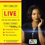 Pat Obilor Live Sets To Air In London Station, Ujr Radio
