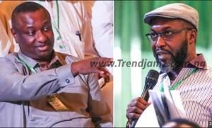 News: Watch As APC's Keyamo And PDP's Chidoka Shake Hands After INEC Declared Buhari Winner (Video)