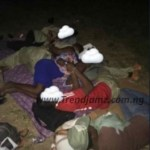 News: See How Corps Members On INEC Duty Were 'Packed Like Sardines' In The Dark (Photos)