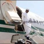 Breaking! President Buhari Arrives Daura Ahead Of Saturday's Election