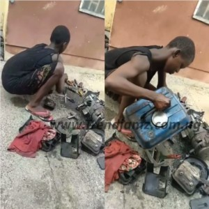 News: Meet The 11-Year-Old Girl Who Services And Repairs Generators In Delta (Video)