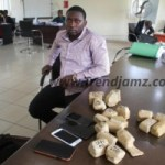 News: EFCC Nabs Man Carrying 19 Wraps Of Raw Gold In Lagos (Photo)
