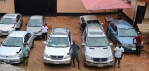 News: Exotic Cars And House Recovered From 30 Suspected Yahoo Boys In Ado-Ekiti (Photos)