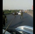 """""""They Can't Do Anything"""" – NDA Cadets Insult Motorists After Causing Gridlock On Road (Video)"""