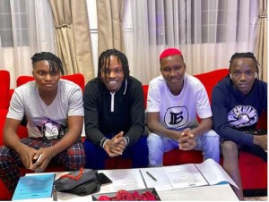 Naira Marley Officially Signs New Artistes To His Label