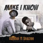 Ilajeboi – Make I Know Ft. Snazzee