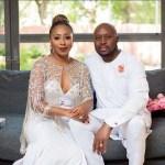 Dakore Egbuson-Akande Shares Throwback Photo With Hubby
