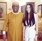 Femi Fani-Kayode Gushes Over His Lover, Chika Nerita