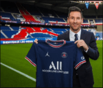 Lionel Messi completes his move to PSG