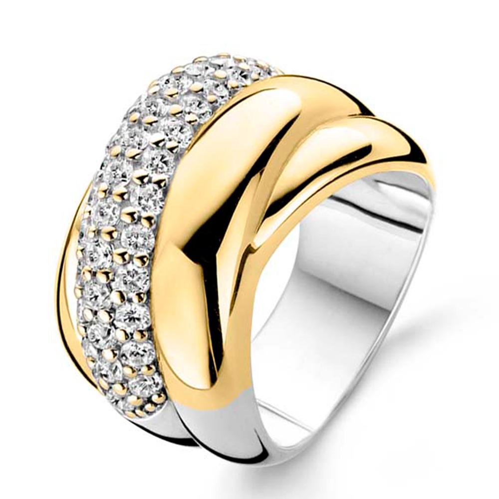 Bicolor Ring Dames