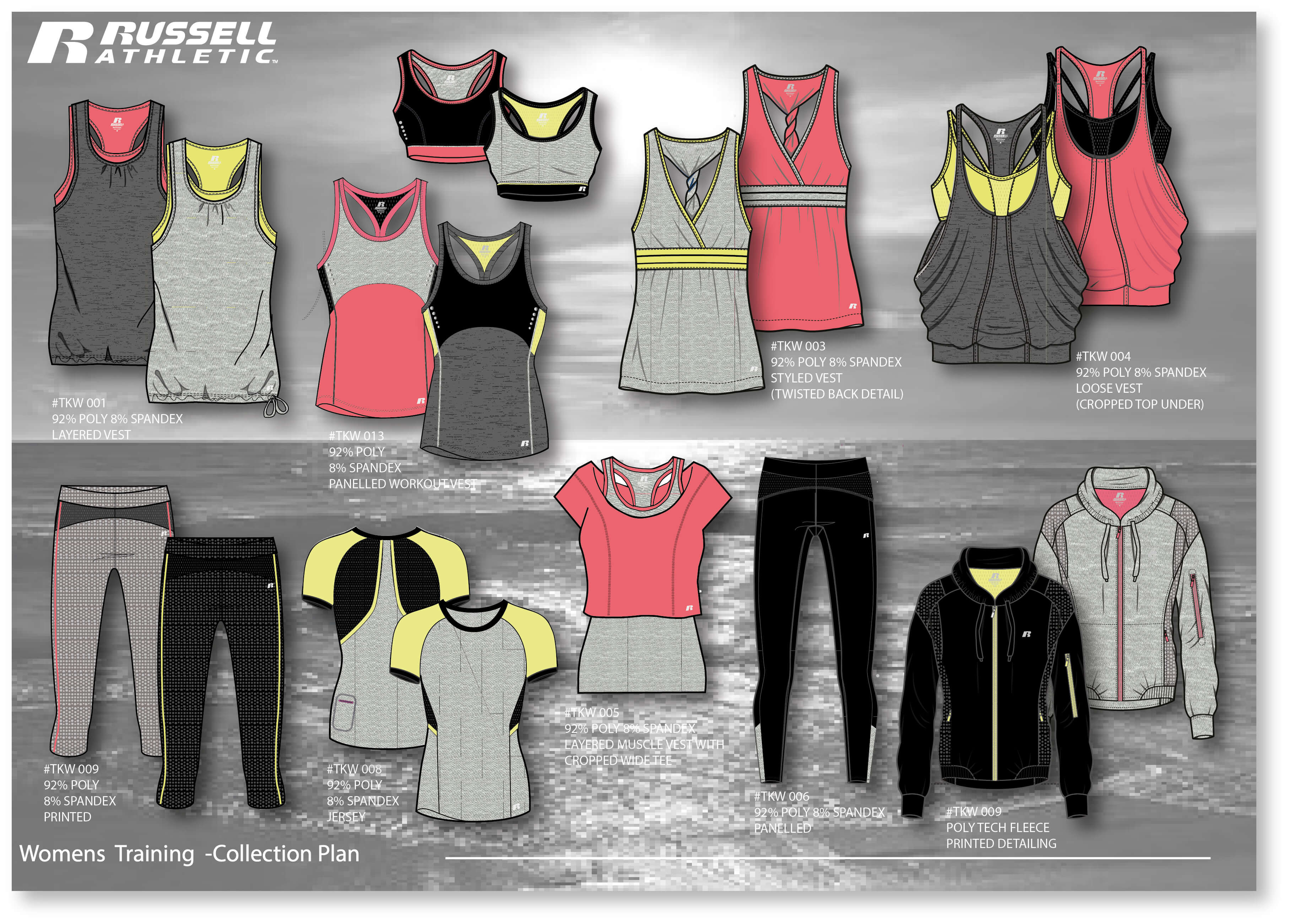 Russell Athletic Womens by trendlab London
